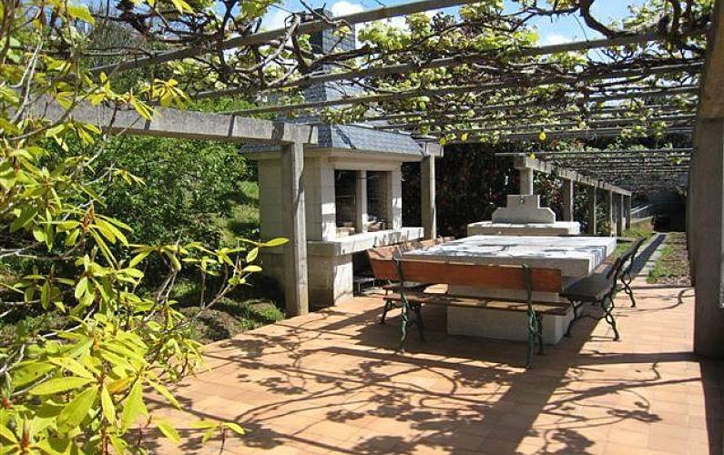 2 Terrace A Coruña Cedeira Apartment - Terrace