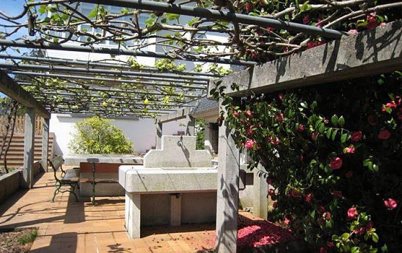 2 Garden A Coruña Cedeira Apartment - Garden