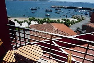 Apartamento para 2-3 personas en 1a línea de playa A Coruña/La Coruña