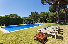 Villa for rent only 1500 meters from the beach Barcelona