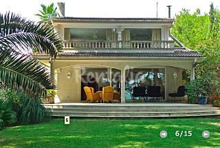 Villa para 10 personas en 1a línea de playa Mallorca