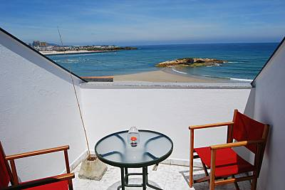 Apartamento de 2 habitaciones a 30 m de la playa Lugo