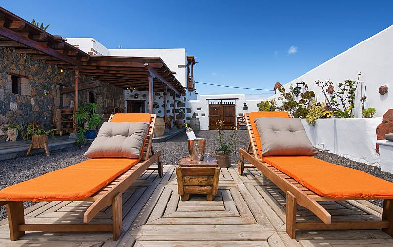 Casa tradicional canaria lanzarote Lanzarote - Exterior del aloj.