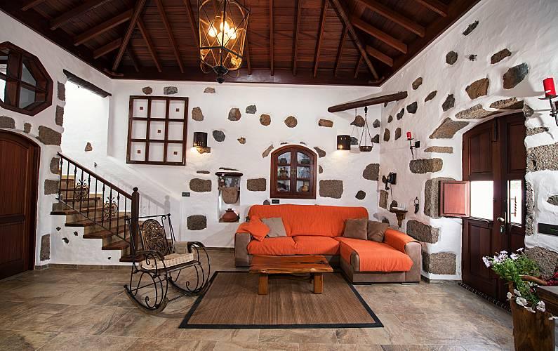 Casa Salón Lanzarote Tinajo Casa en entorno rural - Salón