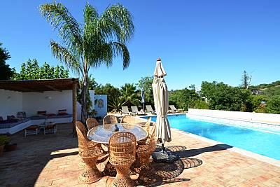 Villa para 8-10 personas a 6.5 km de la playa Algarve-Faro