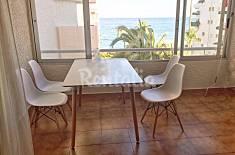 Apartamento para 1-4 personas a primera linea de playa Alicante