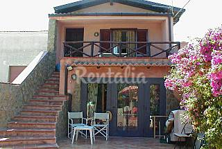 Villa for rent on the beach front line Trapani