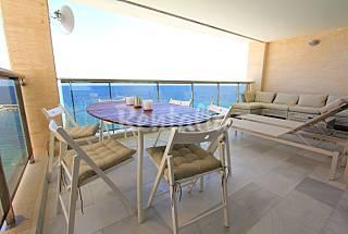 Apartamento para 4-6 personas en 1a línea de playa Alicante