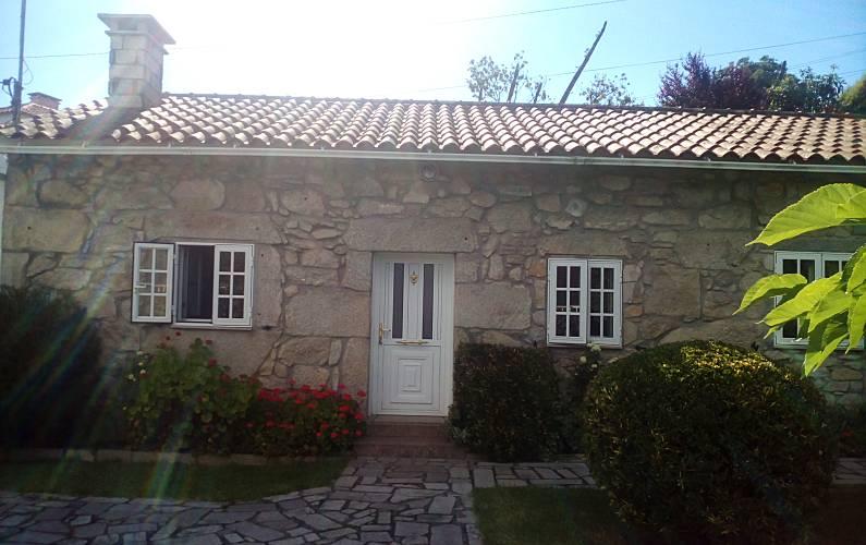 Casa t pica del rural gallego vilachan tomi o - Casa rural rias baixas ...