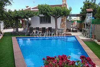 Casa con piscina privada en la costa dorada Tarragona
