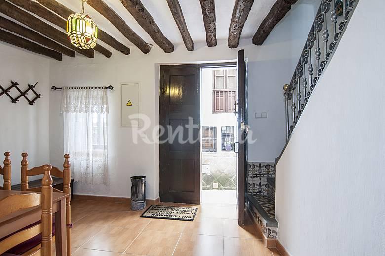 Lovely Living-room Málaga Cómpeta Cottage