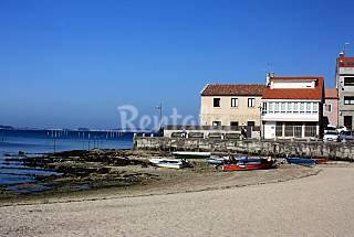 Casa para 6 personas a 40 m de la playa. Pontevedra