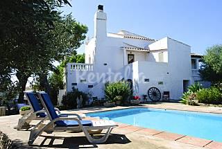 Casa rural para 8 personas a 8 km de la playa Menorca