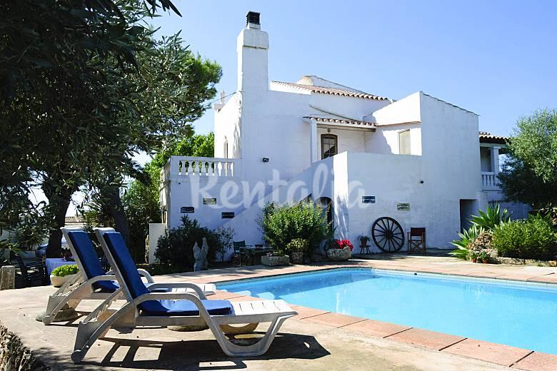Casa rural para 8 personas a 8 km de la playa ciutadella - Casa rural 11 personas ...