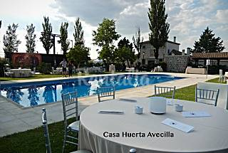 House for 14-16 people with swimming pool Segovia