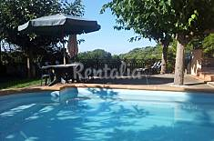 Villa for 9-10 people only 3000 meters from the beach Barcelona