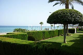 Apartamento totalmente equipado en 1a línea de playa Almería