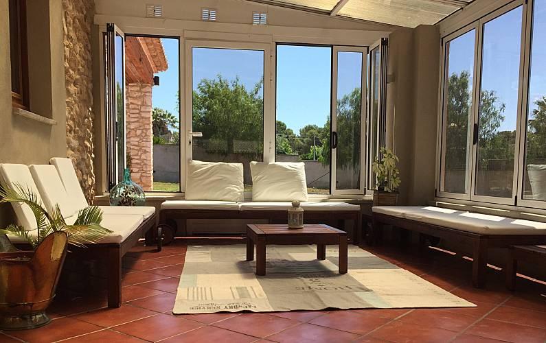 Villa en alquiler a 2 km de la playa Tarragona