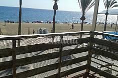 Apartamento para 5 personas en 1a línea de playa Almería