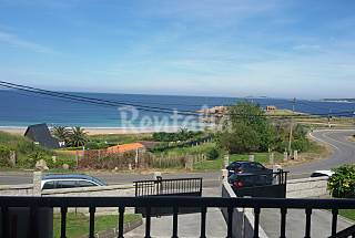 House with 4 bedrooms on the beach front line Pontevedra