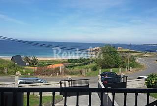 Casa a lanzada  Casa com 4 quartos em frente à praia Pontevedra