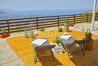 Villa for 2-4 people 8 km from the beach Trapani