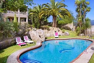 Villa for 8 people 3 km from the beach Pontevedra