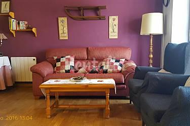 Apartment Living-room Huesca Benasque Apartment