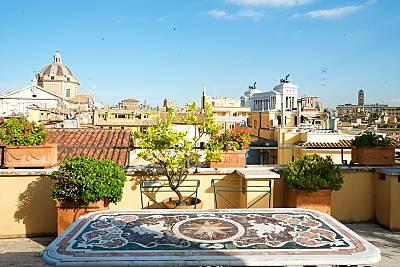 Fantastico Attico piazza Venezia Roma