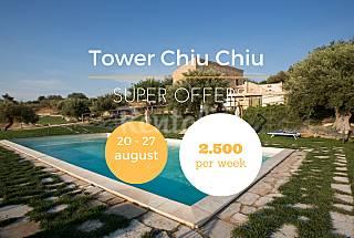 Luxurious villa,private pool, turkish bath,sauna Ragusa