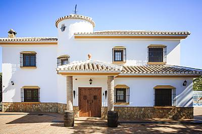 Casa para 9-10 personas a 15 km de la playa Málaga