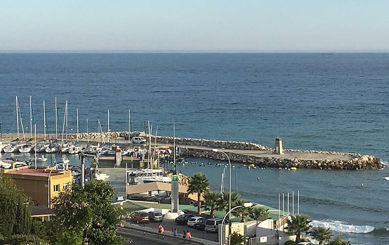 Splendid Views from the house Málaga Málaga villa - Views from the house