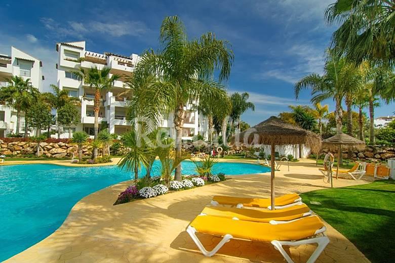 Apartamento en alquiler en playa del sol villacana playa del sol villacana estepona m laga - Alquiler apartamentos en estepona ...