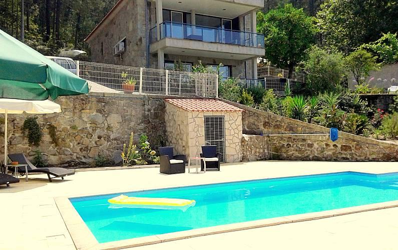 Casa de charme - jacuzzi interior Braga - Exterior da casa