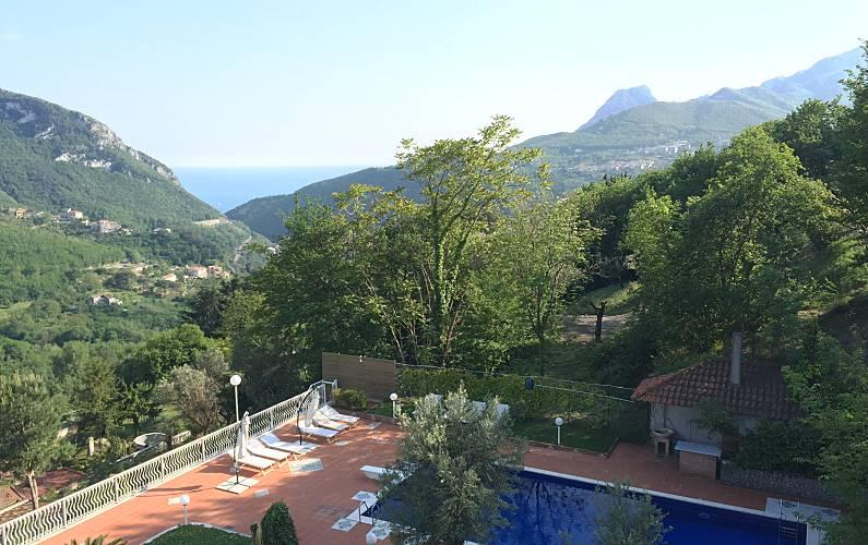 Villa Exterior del aloj. Salerno Cava de' Tirreni villa - Exterior del aloj.