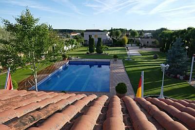 Villa Mercedes, un paraíso en Salamanca (Spain). Salamanca