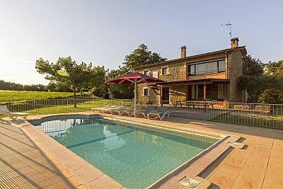 Casa para 11-12 personas con piscina Girona/Gerona