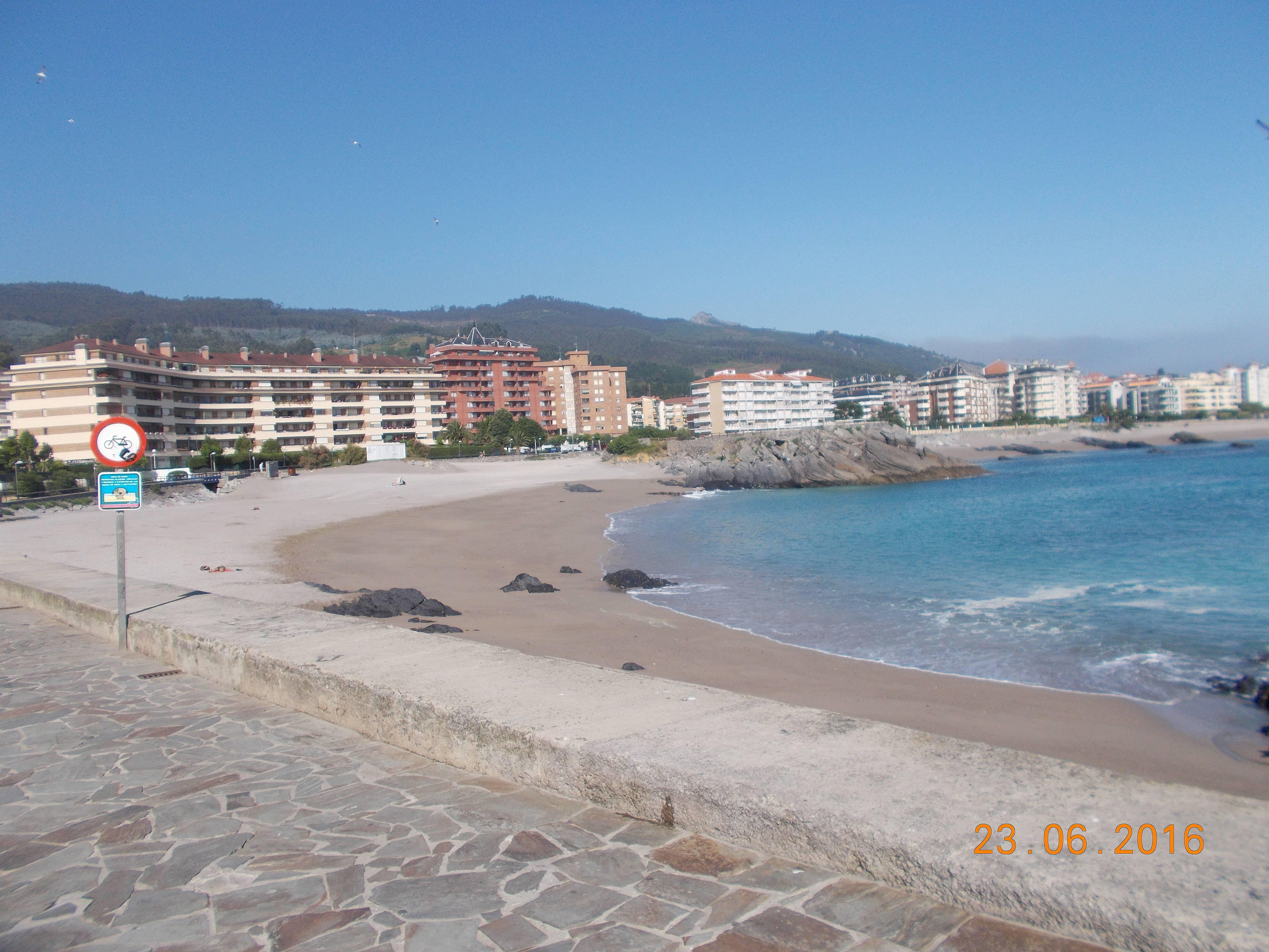 Apartamento en alquiler a 50 m de la playa castro urdiales cantabria camino de santiago del - Apartamentos en cantabria playa ...
