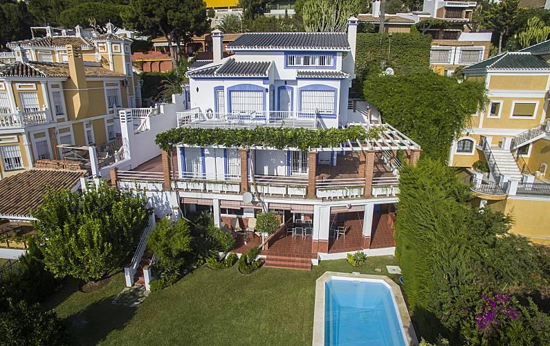 Splendid Garden Málaga Málaga villa - Garden