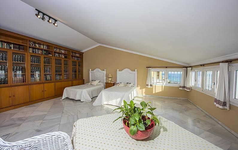 Splendid Bedroom Málaga Málaga villa - Bedroom
