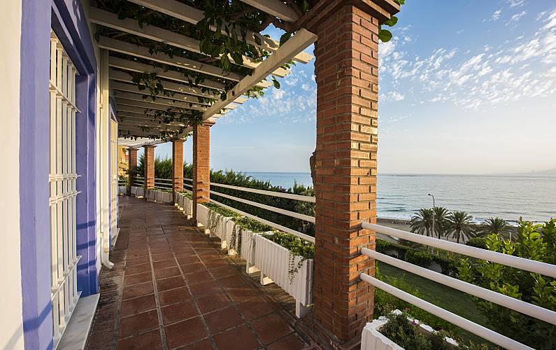 Splendid Terrace Málaga Málaga villa - Terrace