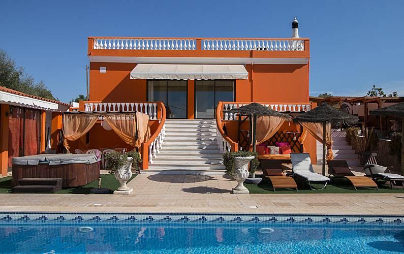 Quinta Exterior da casa Algarve-Faro Silves Villa rural - Exterior da casa