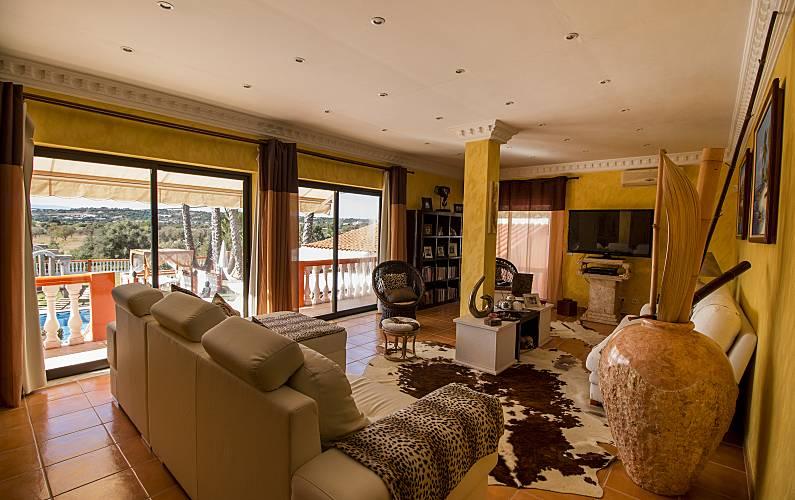 Quinta Sala Algarve-Faro Silves Villa rural - Sala