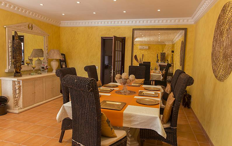 Quinta Sala de Jantar Algarve-Faro Silves Villa rural - Sala de Jantar