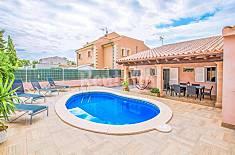 Villa for 9 people in Llucmajor Majorca