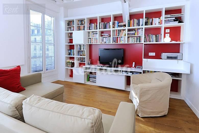 Appartamento per 4 persone parigi paris 2e parigi for Appartamento amsterdam 8 persone