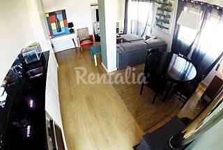 Apartamento para 3 pessoas a 500 m da praia Coimbra