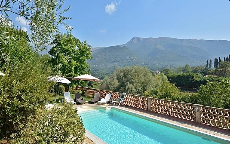 Villa En Alquiler A 8 Km De La Playa Camaiore Lucca