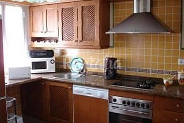 voll Küche Cádiz Rota Ferienwohnung