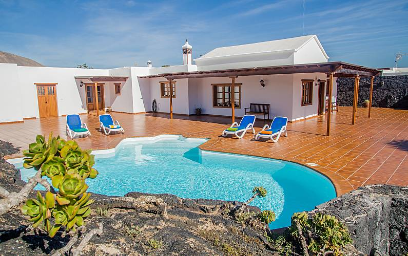 Pool, pieno wifi privatizzata Lanzarote -